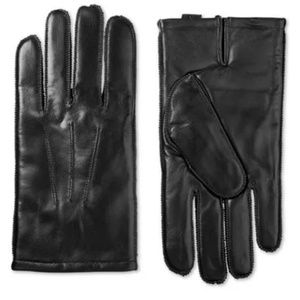 [Isotoner] leather gloves